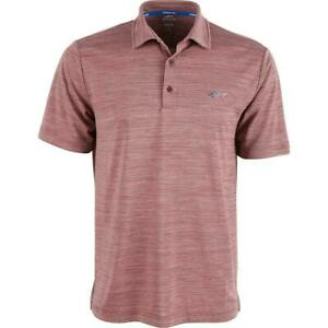Greg Norman Mens Shirt Red Size Medium M Heather Attack Life Polo Rugby $49 #180
