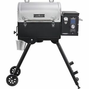 Camp Chef Pursuit Portable Pellet Grill Black Stainless One Size
