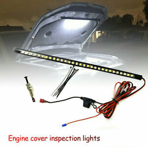 Under Hood LED Light Kit Automatic on off Fits Any Vehicle White Universal $9.99
