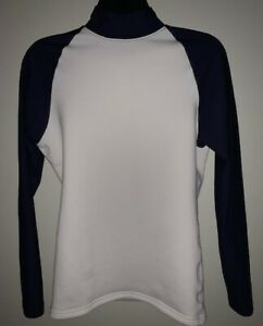 Under Armour Cold Gear Mock Compression Top Shirt Size Large Base Layer Warm $15.99