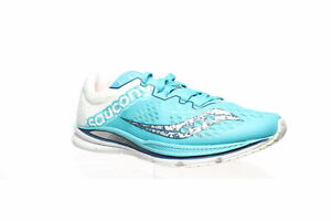 Saucony Womens Fastwitch 8 Teal White Running Shoes Size 7 1531985 $50.39