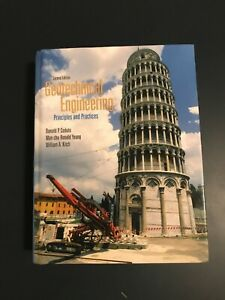 Geotechnical Engineering: Principles Practices $140.00