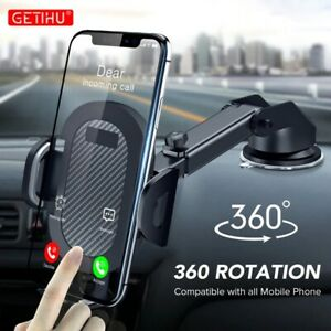 Car Phone Holder 360° Windshield Mobile Cell Support Smartphone Universal Mount $26.90