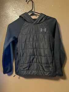 UNDER ARMOUR COLD GEAR HOODIE KIDS YOUTH SIZE S $10.49