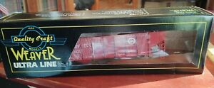 Weaver #1032 Pennsylvania 2 Bay Coal Car O Scale New unopened packaging $22.99