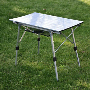 Portable Table Foldable Folding Camping Outdoor Picnic Travel Ultra Light Desk $74.09