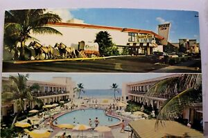 Florida FL Miami Beach Desert Inn Resort Motel Postcard Old Vintage Card View PC $1.00