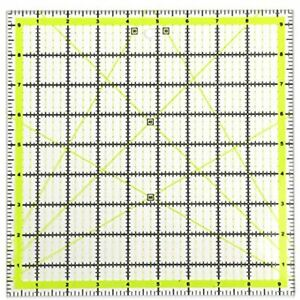 UOOU Quilting Ruler 9.5amp;quotX9.5amp;quot Square Rulers Fabric Cutting Acrylic $14.45