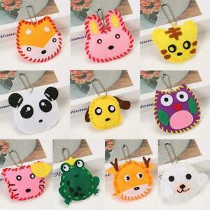 Educational Sewing for Kids Art Craft Kits for Beginners Felt Animal DIY Crafts $12.25