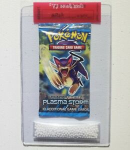 Pokemon Plasma Storm Booster Pack Liepard Art New amp; Sealed $149.95