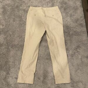 Mens under armour golf pants 32x30 Khaki Lightly Worn stretch golf pants $22.40