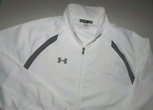 NEW WITHOUT TAGS UNDER ARMOUR XL LOOSE LIGHTWEIGHT Jacket MENS FULL ZIP T317 $21.99