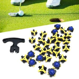 30X Golf Shoe Soft Spikes Replacement Cleat Fast Twist Tri Lok Stud For Footjoy