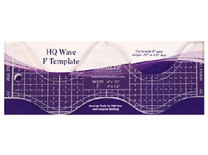 Handi Quilter Wave F Template $23.55