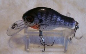 BEAUTIFUL VINTAGE BAGLEY SMALL FRY BREAM WOOD LURE 3 22 21AL 2 1 8quot;