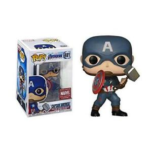 Funko Pop Marvel Avengers Captain America with Stormbreaker #481 doll with box $31.99