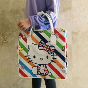 Hello Kitty PU flag Handbag Travel Luggage Bag Large Capacity Tote handbags