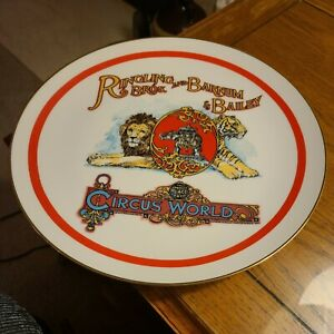 Vintage Ringling Brothers Barnum Bailey Circus Porcelain Plate 1978 1st Edition $14.99