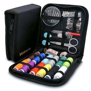 SEWING KIT a NEEDLE amp; THREAD KIT for SEWING – Travel Sewing Pack of 1 Black $18.46