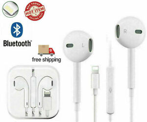 Wired Bluetooth Earphones Headphones For iPhone 11 Pro XR X XS Max 8 7 Plus 6 SE $9.49