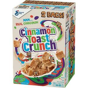Cinnamon Toast Crunch Cereal 49.5 oz. 2 pk. FREE N FAST SHIPPING