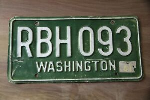 1961 WASHINGTON License Plate *** #x27;61 WA ***