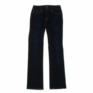 Hello Women#x27;s Jeans size 6 blue navy basic cotton elastane nylon