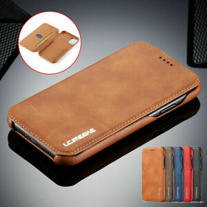 Leather Wallet Case Flip Cover Stand For iPhone 13 12 11 Pro Max 8 7 6S X Xs XR $10.06