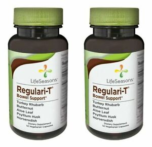 Life Seasons Regulari T for Constipation Relief 14s Pack of 2 . EXP: 7 2021 $14.99