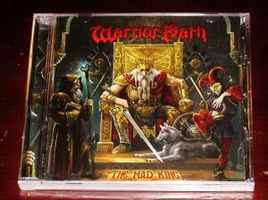 Warrior Path: The Mad King CD 2021 Beast In Black Stormspell Records USA NEW