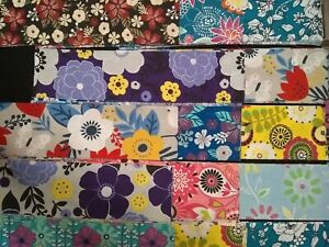CHERYLS MIXED QUILTING SQUARE BLOCKS 8 INCH X 8 INCH PRE CUT COLOR KIT COTTON $9.99