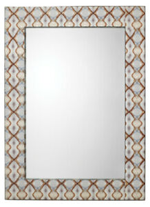 Jamie Young Kaleidoscope Rectangle Mirror On Mdf 7KALE MILI