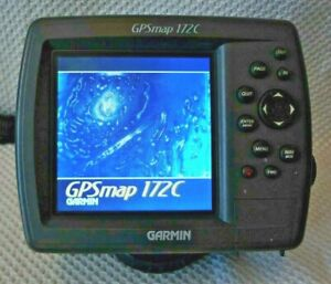 GARMIN 172C GPSMAP CHART PLOTTER FISH FINDER GPS NAVIGATION DISPLAY UNIT w MOUNT $309.99