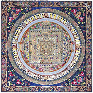 Bgraamiens Puzzle Fortune is Smiling 1000 Pieces Creative Square Mandala Jigsaw $22.62