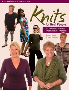Sewing for Real People Ser.: Knits for Real People : Fitting and Sewing... $24.46