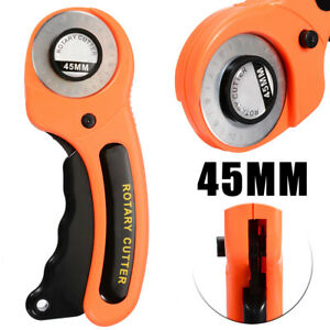 Rotary Cutter With 45mm Blade Sewing Quilters Fabric Leather Cutting Tool Set $5.99