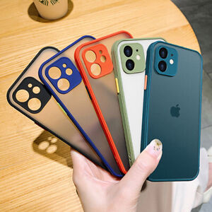 SHOCKPROOF plating clear Case For iPhone 11 12 Pro MAX 12 Pro Armor Slim Cover $4.99