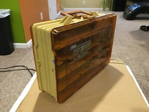 Vintage Plano Magnum Two Sided Tackle Box 1122 Fishing Storage