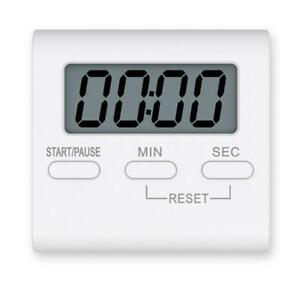 LCD Kitchen Cooking Digital Timer Count Down Up Clock Loud Alarm Magnetic E6C4