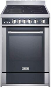 Magic Chef Freestanding Oven MCSRE24S 24 2.2 cu. ft. Electric Range with Convec