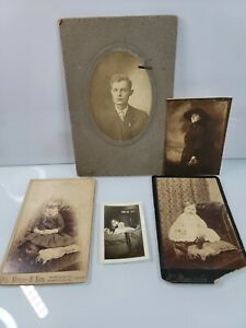 Lot of Antique Photographs From the Early 1900s Ephemera Chicago $17.99
