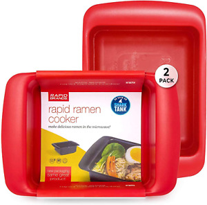 Rapid Ramen Cooker Microwave Ramen in 3 Minutes Perfect for Dorm Small Kitc