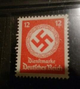 1943 Authentic Zinc Coin WWII Nazi Germany 3rd reich official stamp MNH $9.50