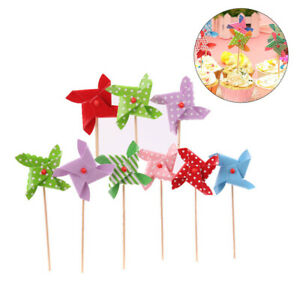 18pcs Food Cupcake Picks Baby Shower Die Cut Cupcake Topper for Wedding Party