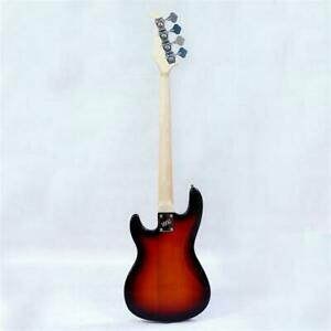 New style 4 string electric bass basswood body maple neck maple fingerboard