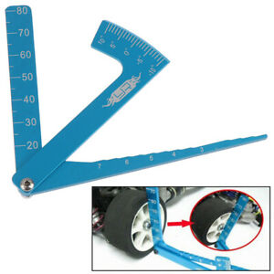 Adjustable Ruler RC Car Wheel Rim Camber Height Tires Angle Balance Rulers6 C $4.24