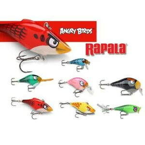 Rapala Angry Birds Set of 7 Lures LIMITED EDITION Rapala Collector