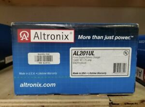 ALTRONIX AL201UL 12VDC Power Supply Charger 1.75 Amp New sealed $40.00
