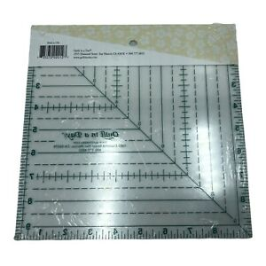 9 1 2quot; Triangle Square Up Ruler Quilt in a Day $19.99