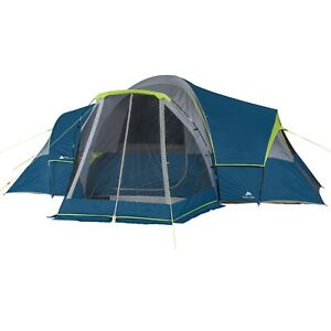 Ozark Trail 10 Person Family Camping Tent with 3 Rooms and Screen Porch.......